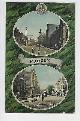 Pudsey, multiview with crest