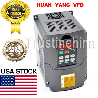 2.2Kw 220V Variable Frequency Drive Inverter Vfd 3Hp 10A Hy02D223B Us Stock