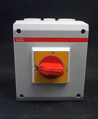 ABB 16A Enclosed Switch Disconnector IP65 OTP 16BA8MS (D751)