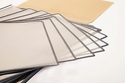 95 Bohle Stitched Art Display Sleeves Crystal Clear Art Protection - Two Sizes