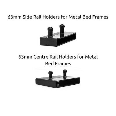 63mm / 60mm Replacement Slat Caps / Holders for Metal Bed Frames - Free Delivery