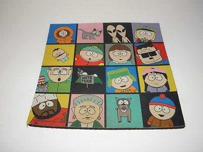 1998 Comedy Central SOUTH PARK Mousepad KENNY CARTMAN KYLE STAN CHEF KITTY