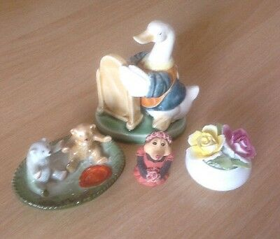 Job Lot Of Vintage China Ornaments HOUSE CLEARANCE