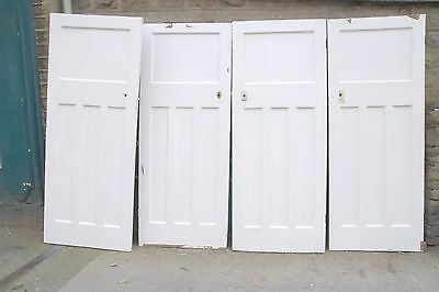 4009 Old reclaimed 1930's art deco doors in larger sizes