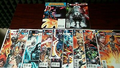 Darkseid Wars Justice League #40 variant 41-46, 49-50 Divergence 1st Grail NM