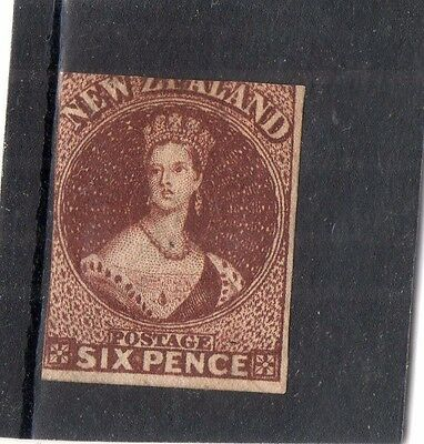 New Zealand SG43 1862-4 6d two mgn fine mm cat £1600