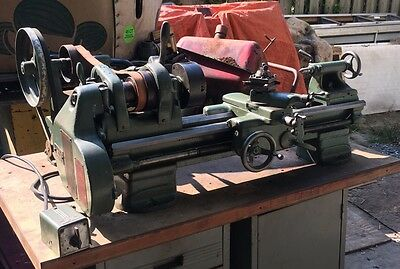 """South Bend Metal Lathe 9"""" Model C Machinist Tool Thread Cutting Bench Top 36 Bed"""