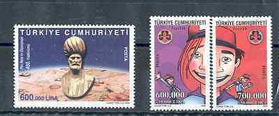 Turkey - Lot of Stamps 2004 MNH** Scouting, Piri Reis