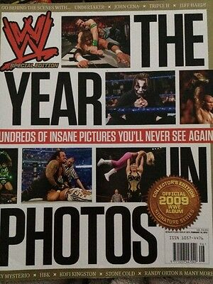 WWE  Special Edition THE YEAR In PHOTOS Magazine  2010