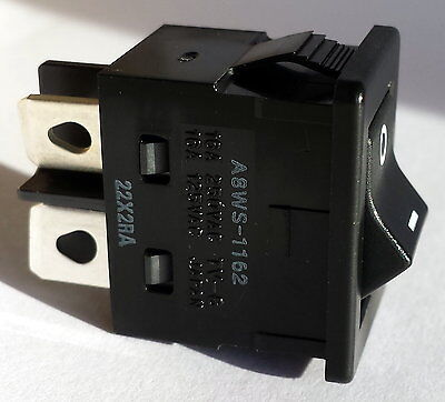 LCD TV MAINS POWER ON OFF ROCKER SWITCH SPST 16A 250V OMRON JAPAN quality–ref203