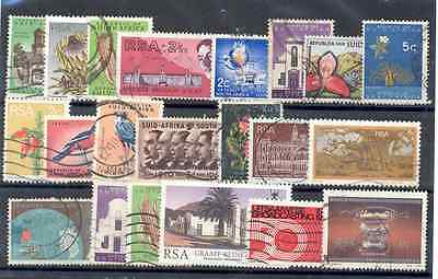 RSA - Lot of used Stamps