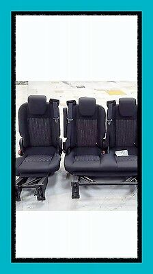 Ford Transit Custom Tourneo Rear Seats Folding And Removeable Brand New Triple