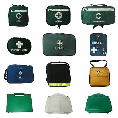 EMPTY First Aid Kit Bags Box Storage Medical Refillable Home Work Travel Sports