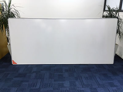 Nobo Dry Wipe Whiteboard White Board with Grid Graph Large 2700 mm x 1200 mm