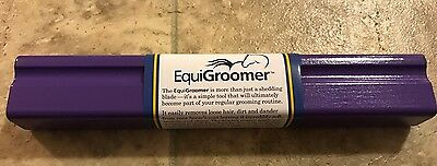 EquiGroomer Purple Horse Size 9 Inch