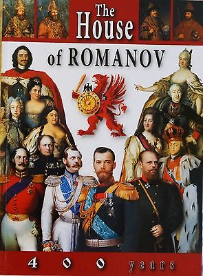 ROYAL FAMILY BOOK ALBUM 400 YEARS OF THE HOUSE OF ROMANOV! Russian Royals