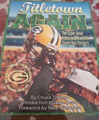 Green Bay Packers Titletown Again 1996 book