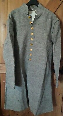 American civil war CSA Jean cloth frock coat