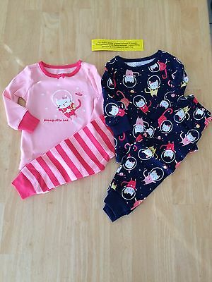 NWT Gymboree kitty Gymmies Cotton Pajamas PJ 12 18 24mo 3 4 5 6 7 8 10 12 Girls