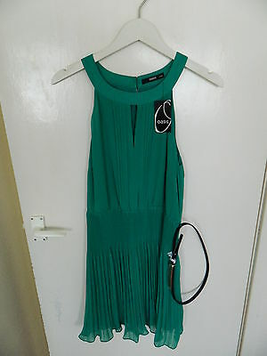 Oasis Green Ladies Dress Size 14 - Party Occasion Womens Bnwt