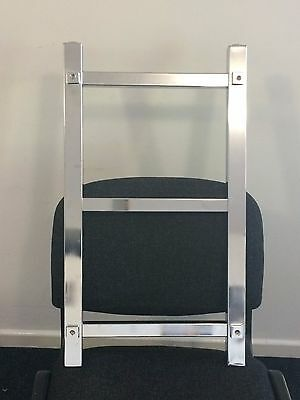 Bathroom Heated Chrome Towel Rail Radiator Straight Warmer