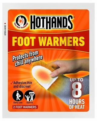 Hot Hands Foot Warmers 4 Pairs