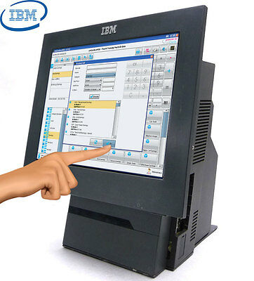 """IBM 15"""" Touch Screen SurePOS 500 Series 4840-544 POS Cash registers XP All in 1"""