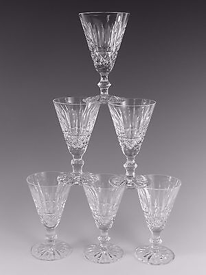 WATERFORD Crystal - TRAMORE Cut - Sherry Glasses - Set of 6