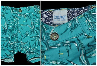 Ted Baker Debenhams Baby Boy Blue Summer Shorts Age 3-6 Months  Eu 68Cm Cotton