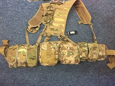 New British Army Multicam MTP  Webbing ,some GENUINE POUCHES