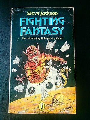 Fighting Fantasy Role Playing Game by Steve Jackson (Adventure Gamebook, 1984)