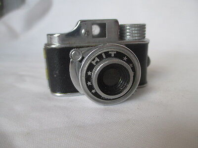 Vintage Miniature ' Hit ' Camera. Japan, Leather Case.