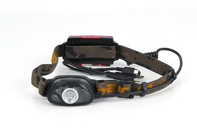 Fox Carp Fishing Halo MS300C Rechargeable Headtorch