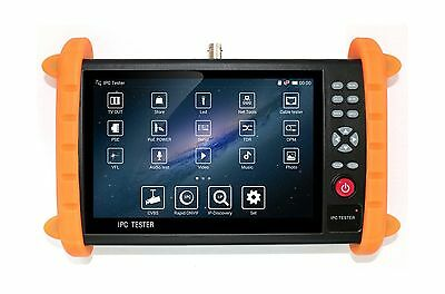 GXA 7 Inch Touch Screen 1080P HDMI IP/CVBS Camera Tester CCTV Tester Test POE...