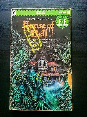 House of Hell by Steve Jackson (Fighting Fantasy Adventure Gamebook, 1984)