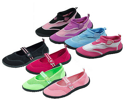 eea80025c8564 NEW W  TAGS ADULT Women s Speedo Mary Jane Water Shoes Pink Velcro ...