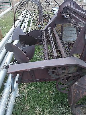 Antique Vintage Manure Spreader