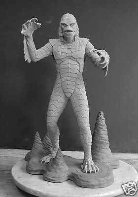 """Monster  """"the Creature"""" 1/4 Scale Resin Kit 20"""" Tall W/base (Yagher Sculpt)"""