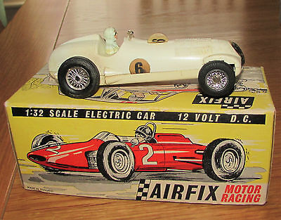 Vintage Airfix Slot car 1:32, Mercedes Benz