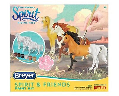 Breyer Horses Spirit & Friends Deluxe Painting Kit #9217