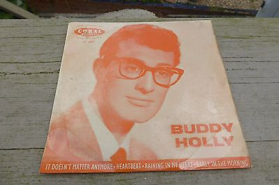 Buddy Holly - S/T UK 1st Press Coral EP FEP 2032 Rare