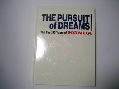 The Pursuit of Dreams The First 50years of Honda book history photo S800 NSX