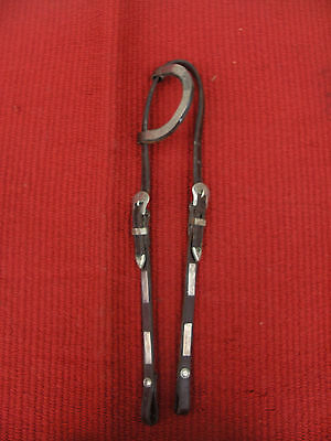 CIRCLE Y VINTAGE SHOW/TRAIL HEADSTALL with SILVER