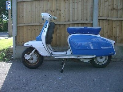 Italian lambretta li150 series3 1965 original condition and running