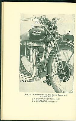 Book of the Rudge Rapid Sports Ulster Special 1933-1939 Manual