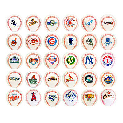 MLB Mini Balls - Baseball / Softball - Mini Baseballs - Alle Teams