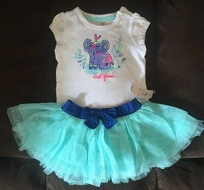 Baby Girls Summer Outfit 0 3 Months • EUR 1 77 Pic IE