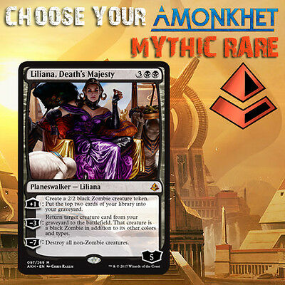 Choose Your Amonkhet AKH - Mythic Rare Cards - MTG M/NM