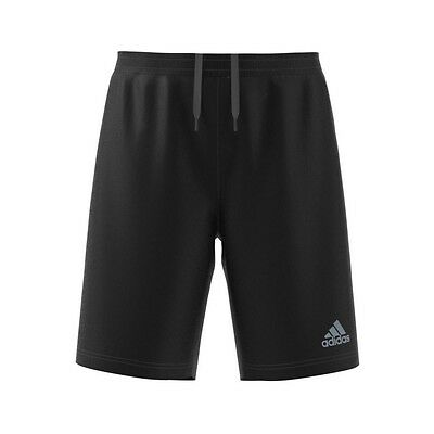 "New Adidas Run Sho M Climalite 7"" Running Shorts Black Dry-Fit AI3295 Size:S, XL"