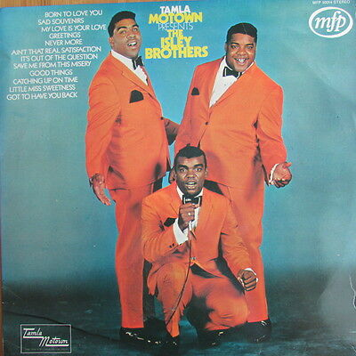 The Isley Brothers Lp / Tamla Motown Presents ( First Press Ex / Vg+ )